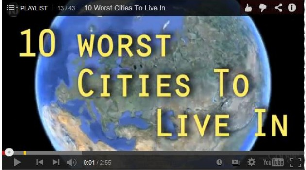 10 Worst Cities to Live In
