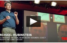 TED Talk-Amazing Vid by Magnify Changes in Color & Vibration