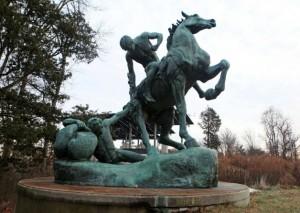 Lindale Park Statue